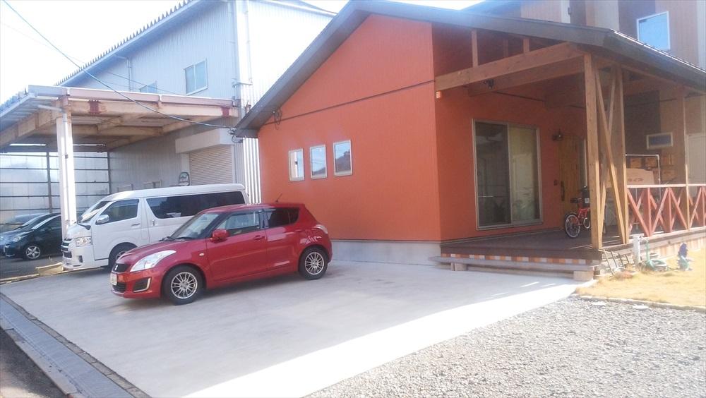 レンタルスペースguruguruの利用の際は駐車スペースにご注意を