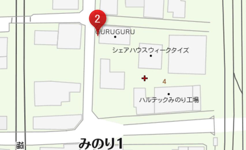 guruguru 駐車場 横